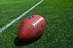 NFL official Ball Royalty Free Stock Photos