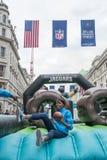 NFL op Regent Street Royalty-vrije Stock Afbeelding