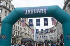 NFL på Regent Street Arkivfoton
