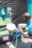 NFL på Regent Street Royaltyfria Bilder