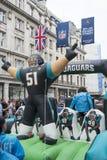NFL på Regent Street Arkivbild