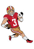 Nfl player Royalty Free Stock Images