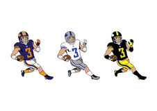 Nfl players Royalty Free Stock Photos