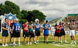 NFL QB legendy i gwiazdy Fotografia Royalty Free