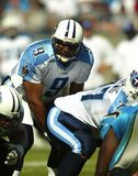 NFL Quarterback Steve McNair Stock Photo