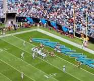 NFL - in the Red Zone Royalty Free Stock Photography