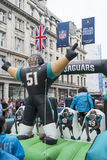 NFL on Regent Street Stock Photography