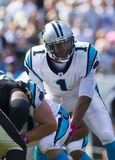 NFL: Saint outubro de 09 contra panteras Fotografia de Stock Royalty Free