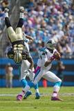 NFL : Saints du 9 octobre contre des panthères Photographie stock libre de droits
