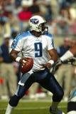 NFL Strateeg Steve McNair Stock Foto