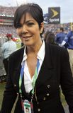 Kris Jenner attends Super Bowl XLIII. Featuring the Arizona Cardinals vs. the Pittsburgh Steelers at Raymond James Stadium in Tampa, Florida, on February 1 stock images