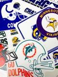 NFL-Teams royalty-vrije stock foto