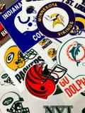 NFL-Teams royalty-vrije stock foto's
