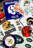 NFL-Teams stock afbeelding