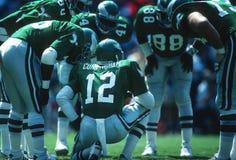NFL-Voetbalwirwar Stock Afbeeldingen