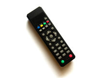 Nfrared remote control for TV Stock Images