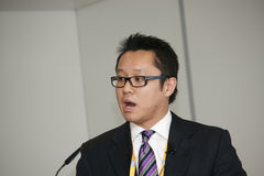 Ng de Roy da unidade de negócios da nuvem do vice-presidente SAP Imagens de Stock