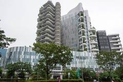 Ng Teng Fong General Hospital Punggol, Singapore, Januari 26, 20 arkivbild