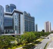 Ng Teng Fong General Hospital, Singapore Royaltyfria Foton