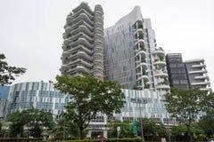 Ng Teng Fong szpital ogólny Punggol, Singapur, Styczeń 26, 20 obraz stock