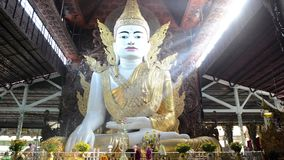 Nga Htat Gyi, также известное как 5-этаж Будда сток-видео