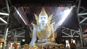 Nga Htat Gyi, also known as the five-storey Buddha stock footage