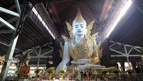 Nga Htat Gyi, also known as the five-storey Buddha stock video
