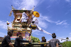 Ngaben Tradition Stock Image