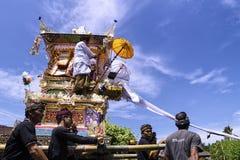 Ngaben tradycja Obraz Stock