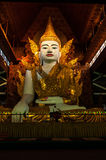 Ngahtatgyi Paya, Beautiful sitting Buddha.(The Fiv Royalty Free Stock Photos