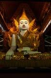 Ngahtatgyi Paya, Beautiful sitting Buddha.(The Fiv Royalty Free Stock Photos