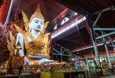 Ngahtatkyi pagod i Myanmar Royaltyfria Bilder