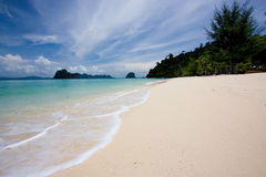Ngai Island. The beautiful island in andaman sea, thailand Royalty Free Stock Photo