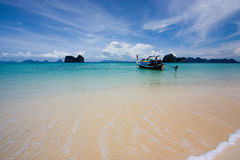 Ngai Island. The beautiful island in andaman sea, thailand Royalty Free Stock Images