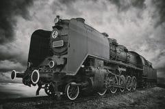 Ångalokomotiv Royaltyfri Fotografi