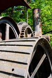 Ångamotordelar Royaltyfri Fotografi