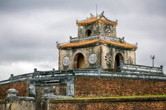 Ngan Gate of te Citadel in Hue's Imperial city Stock Photo