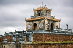 Nganpoort van tecitadel in de Keizerstad van de Tint stock foto