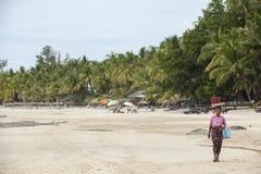 Ngapali beach myanmar Royalty Free Stock Photography