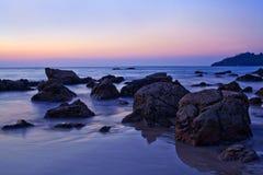 Ngapali Beach, Myanmar Royalty Free Stock Photo