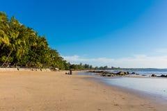 Ngapali-Strand Rakhine-Zustand Myanmar lizenzfreie stockbilder