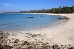 Ngapali strand - statliga Rakhine - Myanmar Royaltyfri Fotografi