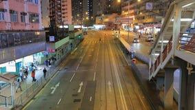 Ngau tau在地铁站附近的kok区 股票视频