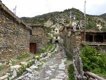 Ngawal village Stock Photography