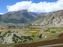 Ngawaldorp, Nepal royalty-vrije stock afbeelding