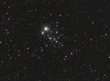 NGC 457 η συστάδα κουκουβαγιών Στοκ Φωτογραφίες