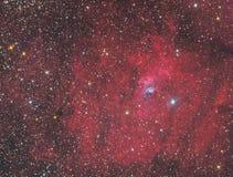 NGC7635泡影星云 库存照片
