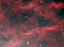 NGC 1499年加利福尼亚星云 免版税库存图片