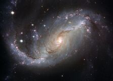 NGC 1672 Royalty Free Stock Image