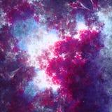 NGC Fractorium galaktyki eksploraci przestrzeni kosmicznej fractal głęboka sztuka ilustracja wektor